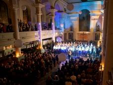 Chaps Choir at Shoreditch Church